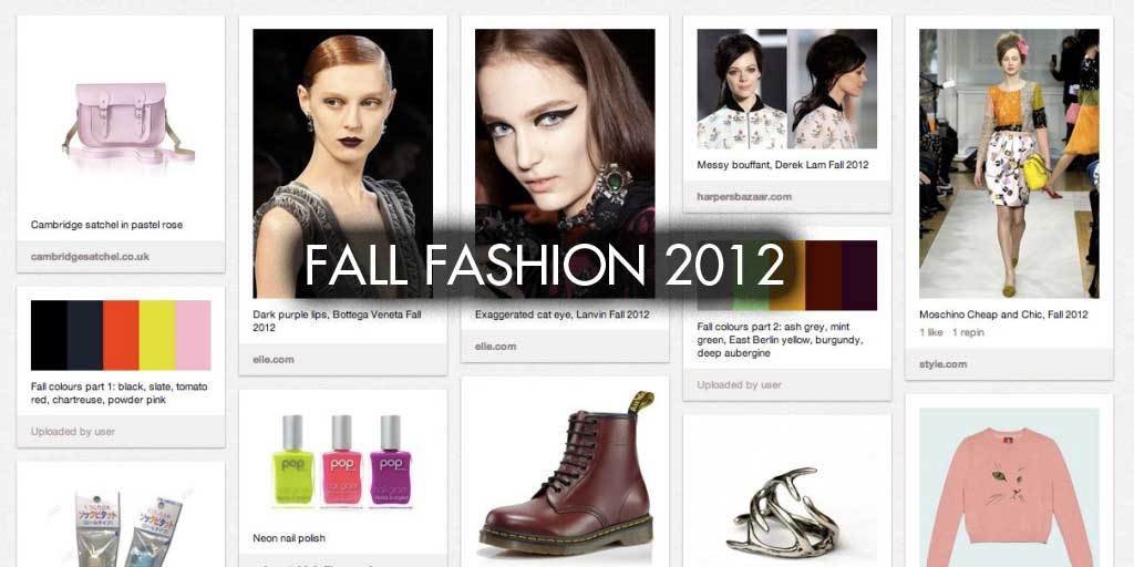 Kitty sweaters, purple lips & combat boots: Fall Fashion 2012 Guide!