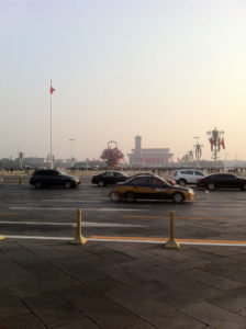 Tianamen Square across the street