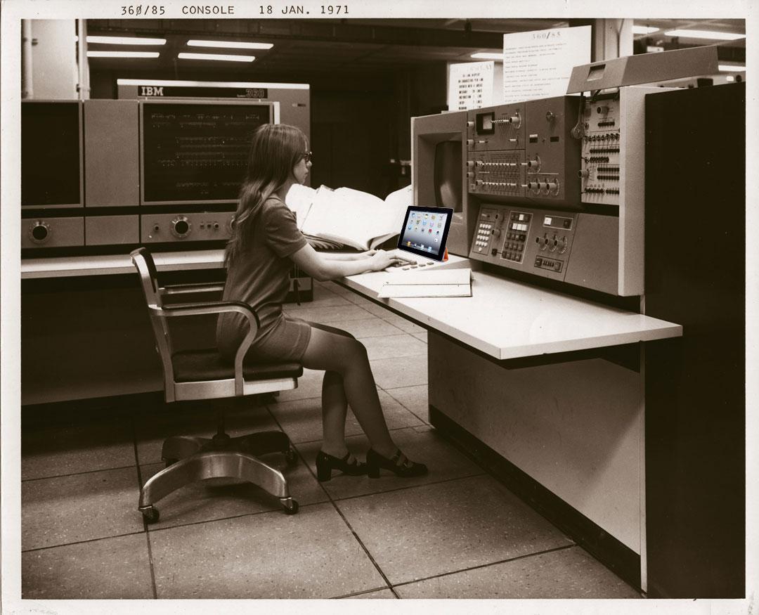 Supercomputer-ipad