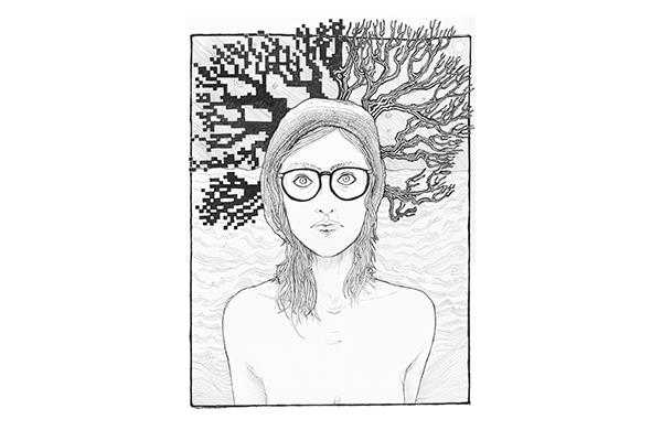 Self portrait, age 30